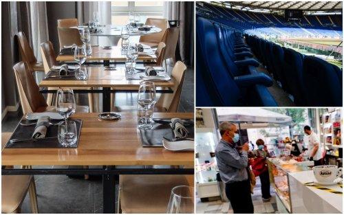Riaperture, da ristoranti al chiuso a stadi: cosa cambia da oggi