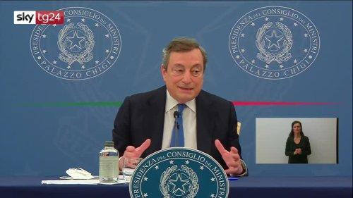 Nuovo Decreto Sostegni Bis: tutti i bonus illustrati dal Premier Mario Draghi in conferenza stampa. VIDEO