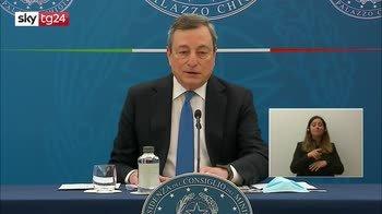 Draghi, la conferenza stampa del 16 aprile 2021. VIDEO