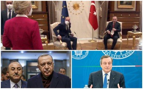 Sofagate, scontro diplomatico Italia-Turchia su parole di Draghi