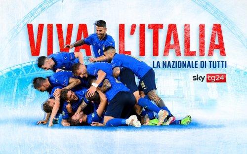 """""""Viva l'Italia – La Nazionale di tutti"""", l'instant doc di Sky"""
