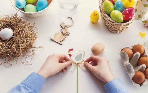 4 lavoretti di Pasqua facili e veloci da fare con i bambini