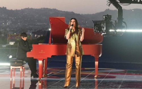 Laura Pausini agli Oscar 2021, l'esibizione nel pre-show con 'Io sì'