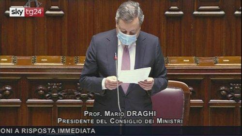 Lunedì cabina regia, Draghi: riaperture graduali. VIDEO - Sky TG24