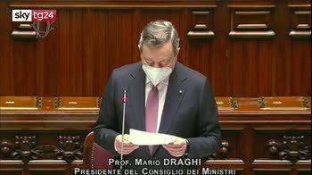 Recovery Plan, il discorso di Mario Draghi alla Camera. VIDEO