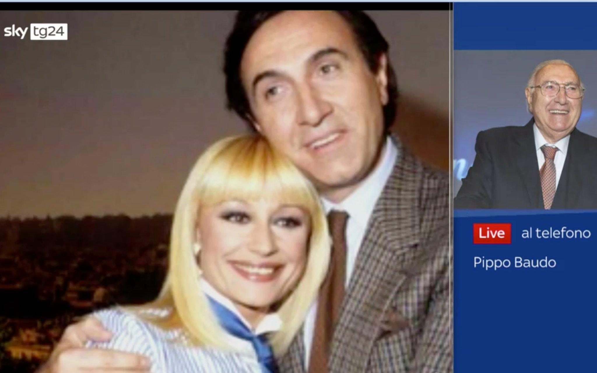 """Raffaella Carrà, Pippo Baudo a Sky TG24: """"È stata una grande artista'"""