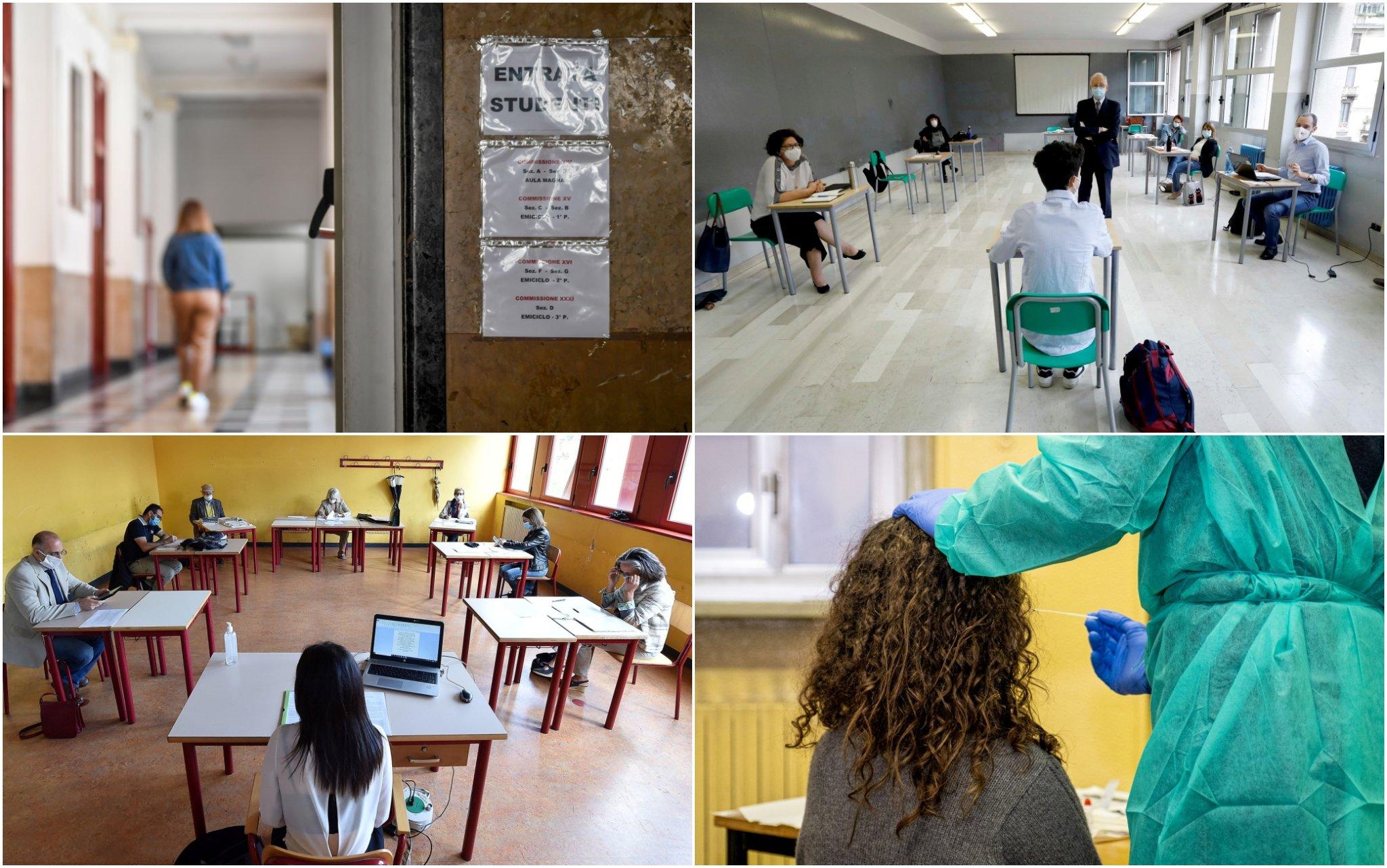 Scuola, dai tamponi ai vaccini: come saranno gli esami di giugno