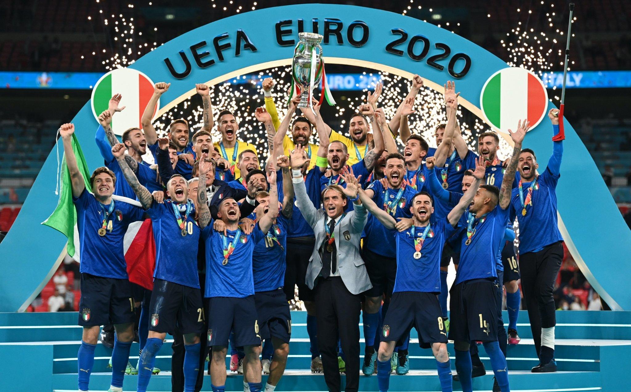 Italia campione d'Europa - cover