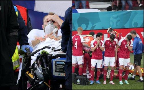 Eriksen, dopo il malore il centrocampista è stabile e cosciente