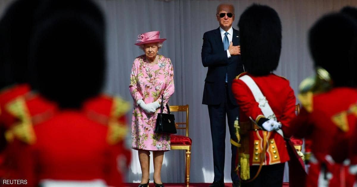 اللقاء الرسمي الأول.. الملكة إليزابيث تستقبل بايدن