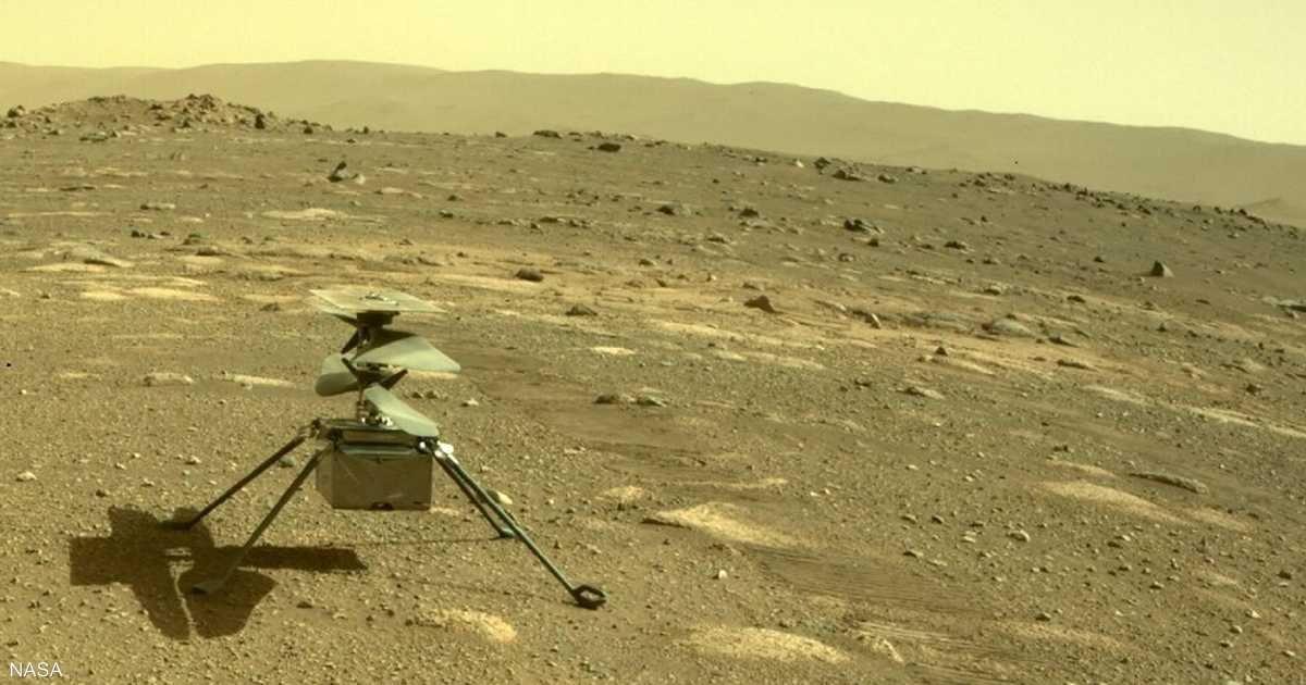 """إرجاء أول رحلة جوية المريخ.. وشيءٌ """"رمزي"""" داخل المروحية """"التاريخية"""""""