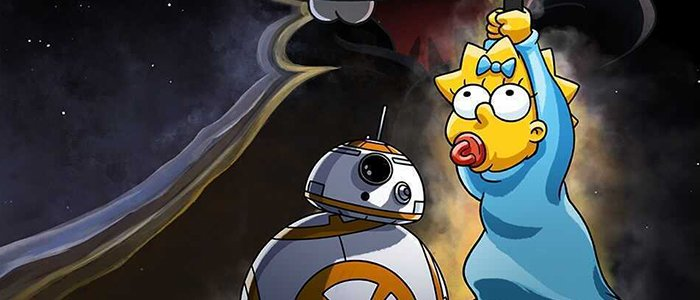 The Simpsons Gets The Star Wars Treatment In A New Animated Short Coming to Disney+