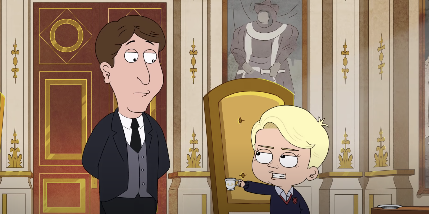 HBO Max's Royal Animated Comedy From the Team Behind Family Guy