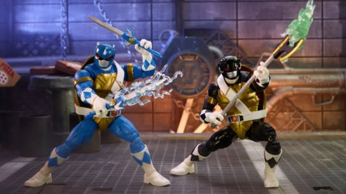 Cool Stuff: Teenage Mutant Ninja Turtles and Power Rangers Crossover Action Figures Are Coming