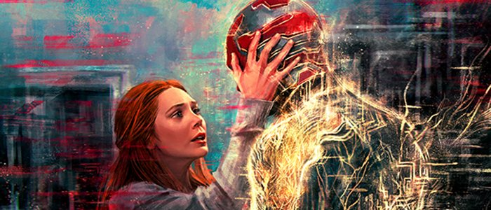 Gorgeous New WandaVision Posters Bring the Show's Most Heart-Wrenching Moments to Life