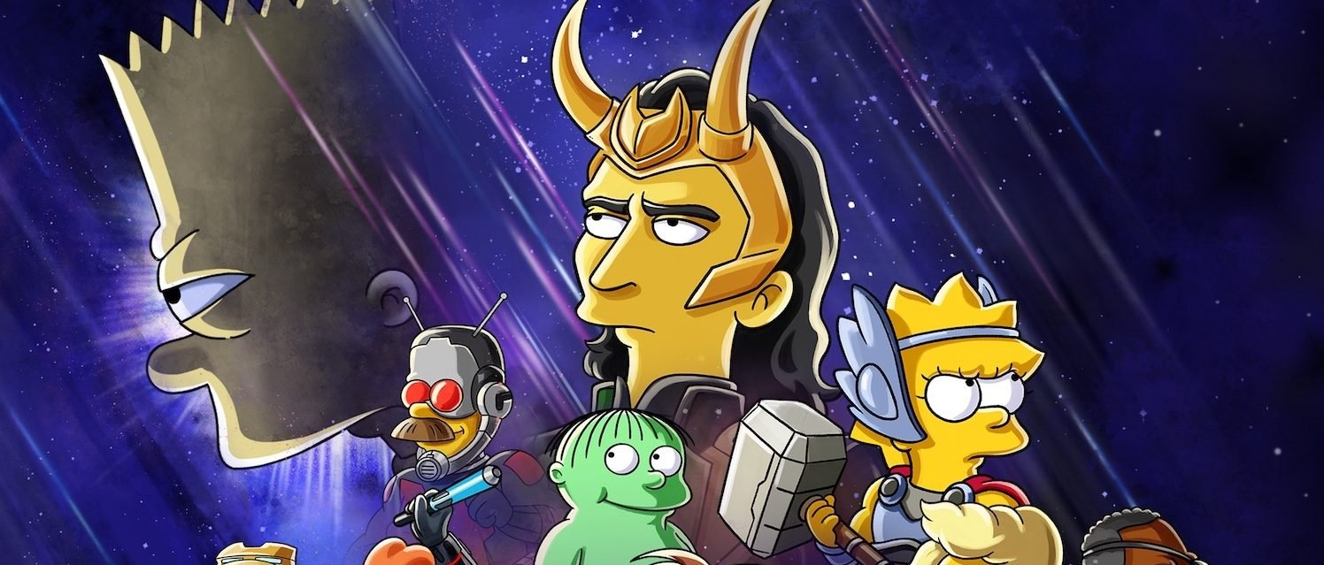 The Simpsons Cross-Over With the MCU In New Disney+ Short Starring Tom Hiddleston As Loki
