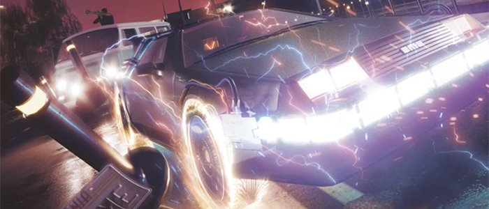 These Back to the Future Posters Have No Problem Hitting 88 Miles Per Hour