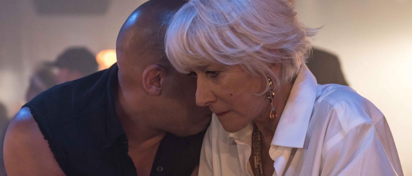 Helen Mirren Correctly Thinks She and Vin Diesel Should Have Kissed in 'F9,' With a Catch