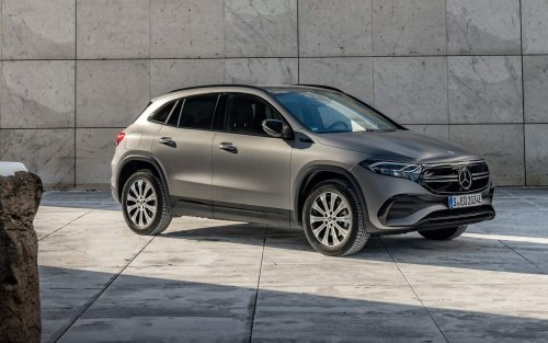 Mercedes' cheapest electric SUV adds two new 4MATIC models
