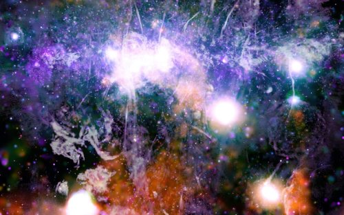 Jaw-dropping Galactic Center image could show the key to birthing stars