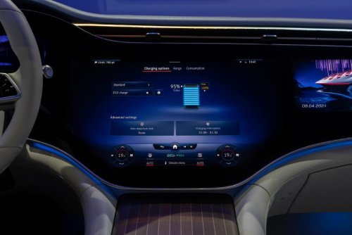 Mercedes me Charge recharging ecosystem debuts in the Mercedes EQS luxury EV