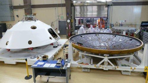 Mars 2020 spacecraft MEDLI2 sensors respond to NASA's call