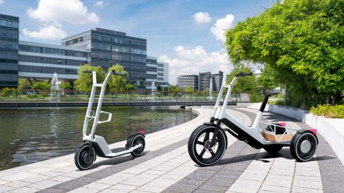 BMW reveals E-scooter and electrified cargo bicycle concepts