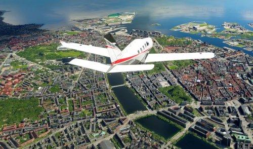 Microsoft Flight Simulator World Update V overhauls the Nordics today