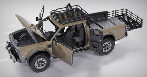 Alpha Wolf+ EV has an extra pair of suicide rear doors