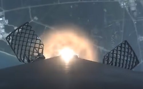 Watch SpaceX Falcon 9 rocket launch and land from onboard camera
