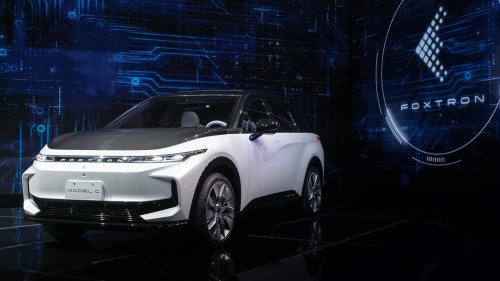 Foxconn just revealed 3 new EVs nobody expected