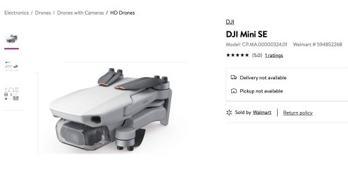 The DJI Mini SE could be a $299 drone thanks to some Apple strategy
