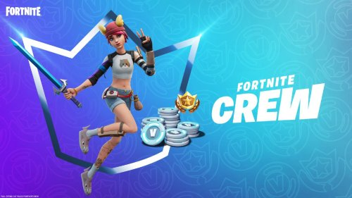 Fortnite Crew Pack for August 2021 includes skin based on fan concept