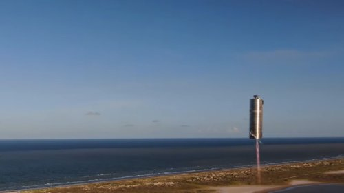 Check out SpaceX Starship SN5's 'hop' from a better angle