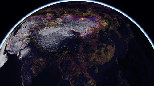 This 2050 Earth map is an ominous glimpse of our future
