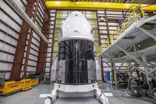 "SpaceX Crew Dragon ""Resilience"" is fueled up and ready for launch"
