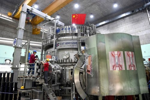 Chinese fusion reactor sets an operational record