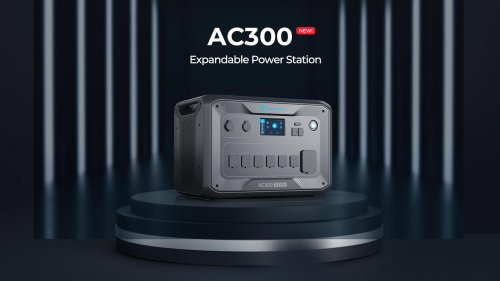 Bluetti AC300 Portable Solar Power Station is finally available
