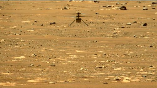 NASA's Ingenuity Mars helicopter flew again today : Here's what happened