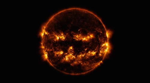 NASA reveals astounding photo of the Sun shrouded in darkness