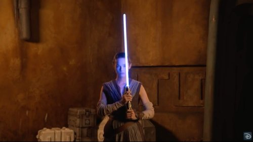 """Disney built this epic """"real"""" lightsaber for Star Wars: Galactic Starcruiser"""