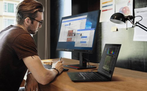 Lenovo ThinkPad, ThinkVision expand to meet professionals' growing needs