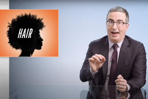 John Oliver Tells Fellow White People What to Know About Black Hair