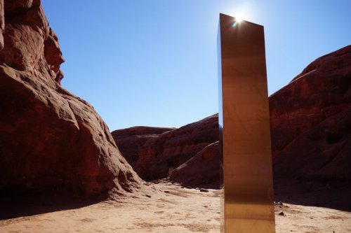 I Went to the Monolith in the Utah Desert