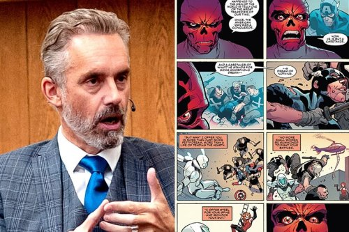 Jordan Peterson Is Shocked to Discover Captain America's Nazi Supervillain the Red Skull Has Similar Ideas