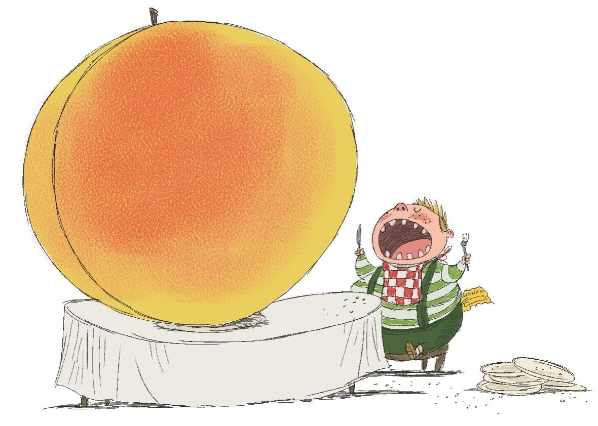 The wonderful, terrible power of food in Roald Dahl