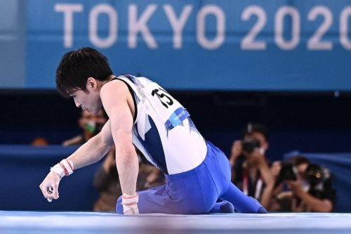The Heartbreak of Gymnastics' Superman Flopping Out of the Olympics
