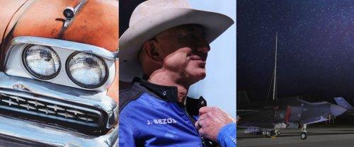 Grosse frayeur pour l'ISS, Jeff Bezos pas astronaute, le F-35 trollé par l'US Air Force, l'hebdo de korii.