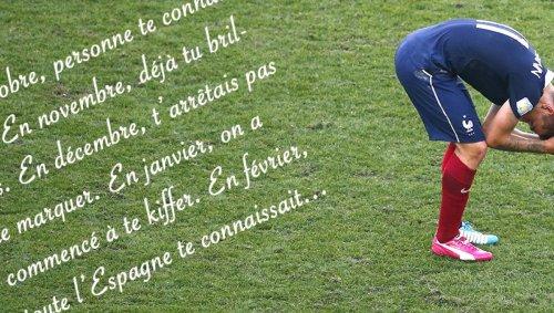 Paul Pogba n'est pas le seul poète de l'équipe de France: étude de textes