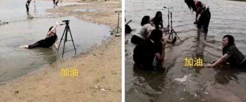Quand des influenceurs cyniques tentent de profiter des inondations en Chine